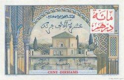 10000 Francs / 100 Dirhams MAROC  1955 P.52 pr.NEUF