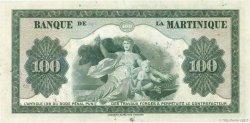 100 Francs type 1942 MARTINIQUE  1945 P.19 TTB+