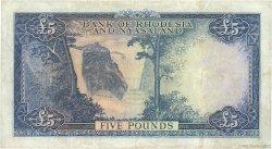 5 Pounds RHODÉSIE ET NYASSALAND  1960 P.22b TTB+