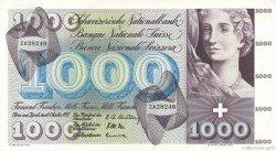 1000 Francs SUISSE  1957 P.52b SUP