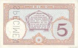 5 Francs TAHITI  1936 P.11s SUP+