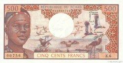 500 Francs TCHAD  1974 P.02a NEUF