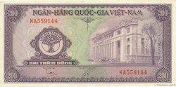 200 Dong VIET NAM  1958 P.009a SUP