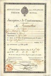 5000 Francs FRANCE régionalisme et divers Clermont 1817  TTB