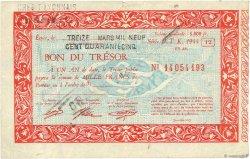 1000 Francs FRANCE régionalisme et divers  1945  TTB