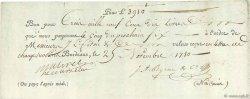 3910 Livres FRANCE régionalisme et divers BORDEAUX 1780  TTB
