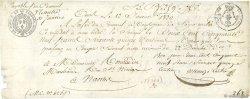 259,75 Francs FRANCE régionalisme et divers NANTES 1820  TTB