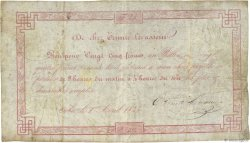 25 Francs FRANCE régionalisme et divers ORBEC 1843  TB