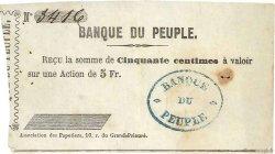 50 Centimes FRANCE régionalisme et divers  1848