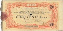 500 Francs FRANCE régionalisme et divers LAON 1915 JPNEC.02.1306 TTB
