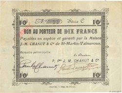 10 Francs FRANCE régionalisme et divers  1914 JPNEC.15.18 TTB