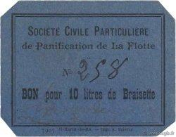 10 Litres FRANCE régionalisme et divers ILE DE RÉ 1920 JPNEC.17- SPL
