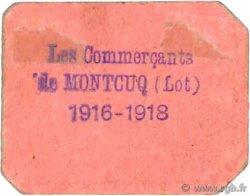 10 Centimes FRANCE régionalisme et divers MONTCUQ 1916 JPNEC.46.20 TTB