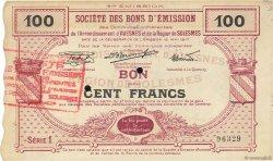 100 Francs FRANCE régionalisme et divers AVESNES 1917 JPNEC.59.215 TTB+