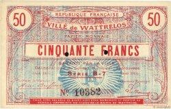 50 Francs FRANCE régionalisme et divers  1915 JPNEC.59.2765 SUP