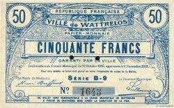 50 Francs FRANCE régionalisme et divers  1915 JPNEC.59.2767 SUP