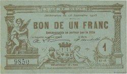 1 Franc FRANCE régionalisme et divers MOUY 1915 JPNEC.60.48 SPL
