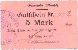 5 Mark FRANCE régionalisme et divers MOOSCH 1916 JPNEC.68.247 SPL