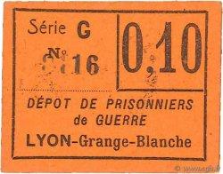 10 Centimes FRANCE régionalisme et divers LYON 1914 JPNEC.69.63 NEUF