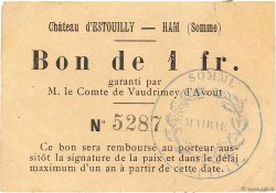 1 Franc FRANCE régionalisme et divers  1915 JPNEC.80.222 TTB