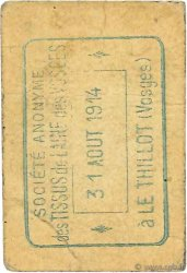25 Centimes FRANCE régionalisme et divers  1914 JPNEC.88.106 TB