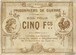5 Francs FRANCE régionalisme et divers MARSEILLE 1914 JPNEC.13.094 TTB