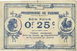 25 Centimes FRANCE régionalisme et divers MIRAMAS 1914 JPNEC.13.095 TB