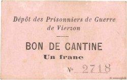 1 Franc FRANCE régionalisme et divers VIERZON 1914 JPNEC.18.33