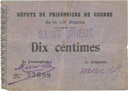 10 Centimes FRANCE régionalisme et divers SAINT BRIEUC 1914 JPNEC.22.-- TTB