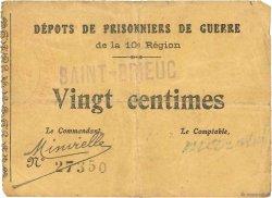 20 Centimes FRANCE régionalisme et divers SAINT BRIEUC 1914 JPNEC.22.-- TB