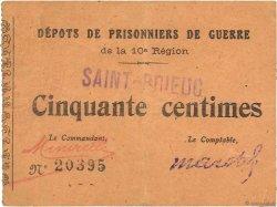 50 Centimes FRANCE régionalisme et divers SAINT BRIEUC 1914 JPNEC.22.-- TTB