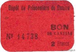 2 Francs FRANCE régionalisme et divers SÈTE 1917 JPNEC.34.90 SUP