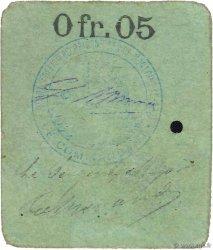 5 Centimes FRANCE régionalisme et divers MONTOIRE 1914 JPNEC.41.03 TTB