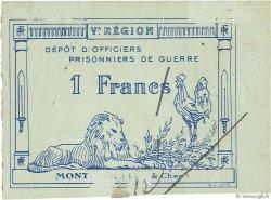1 Franc FRANCE régionalisme et divers MONTOIRE 1917 JPNEC.41.11 TTB