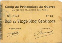 25 Centimes FRANCE régionalisme et divers ROCHE MAURICE 1914 JPNEC.44.14 TB+