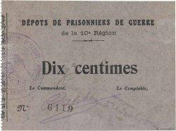 10 Centimes FRANCE régionalisme et divers COËTQUIDAN 1914 JPNEC.56.02 SUP