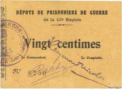 25 Centimes FRANCE régionalisme et divers COËTQUIDAN 1914 JPNEC.56.02 SUP