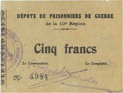 5 Francs FRANCE régionalisme et divers  1914 JPNEC.56.02 SUP