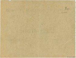 5 Francs FRANCE régionalisme et divers COËTQUIDAN 1914 JPNEC.56.02 SUP