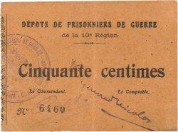 50 Centimes FRANCE régionalisme et divers  1914 JPNEC.56.02 SUP
