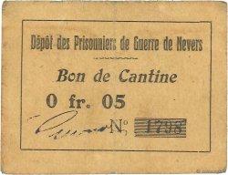 5 Centimes FRANCE régionalisme et divers NEVERS 1914 JPNEC.58.02 TTB