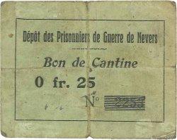 25 Centimes FRANCE régionalisme et divers NEVERS 1914 JPNEC.58.02 TB