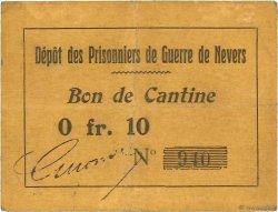 10 Centimes FRANCE régionalisme et divers NEVERS 1914 JPNEC.58.02 TTB