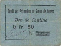 50 Centimes FRANCE régionalisme et divers NEVERS 1914 JPNEC.58.02 TTB