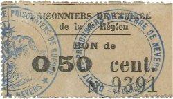 50 Centimes FRANCE régionalisme et divers NEVERS 1914 JPNEC.58.05 SUP