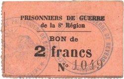 2 Francs FRANCE régionalisme et divers NEVERS 1914 JPNEC.58.05 TTB