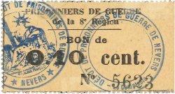 10 Centimes FRANCE régionalisme et divers NEVERS 1914 JPNEC.58.05 SPL