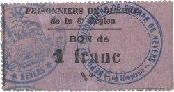 1 Franc FRANCE régionalisme et divers  1914 JPNEC.58.05 SUP