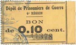 10 Centimes FRANCE régionalisme et divers LE MANS 1914 JPNEC.72.01 TTB