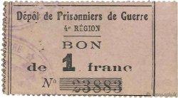 1 Franc FRANCE régionalisme et divers  1914 JPNEC.72.01 SUP